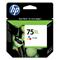 HP 75XL Tri-Color Original Ink Cartridge with Vivera Ink (CB338WN)