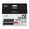 Canon PGI-72 Color Multipack Original Ink Cartridge Value 10 Pack (6402B007)