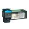 Lexmark C540H1CG Cyan High Capacity Return Program Laser Toner Cartridge