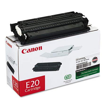 Canon E20 Original Black Toner Cartridge (1492A002AA)